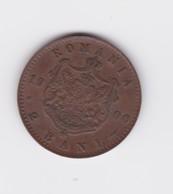 Superbe Et Rare  2 Bani  Roumanie 1900B  TTB/  SUP - Roumanie