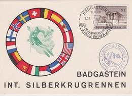 AUTRICHE 1962 CARTE DE BADGASTEIN - 1961-70 Briefe U. Dokumente