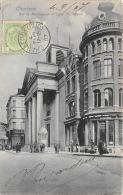 Charleroi - Rue De Marchiennes Et Eglise St-Antoine - DTC - Charleroi