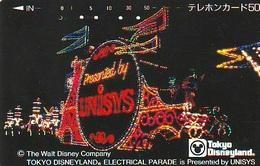 Télécarte Japon - DISNEY Unisys / 110-84094 - Electrical Parade   (6048) Japan Phonecard * Telefonkarte - Disney