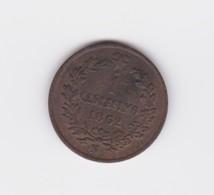 Superbe 1 Centesimo 1862 A   SUP/UNC - 1861-1946 : Royaume
