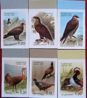 Tajikistan  2007 Birds Of Asia  IMPERFORATED 6v  MNH - Tajikistan