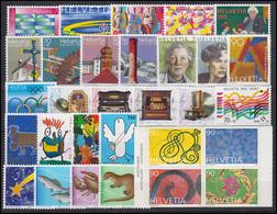 1571-1660 Schweiz-Jahrgang 1996 Komplett, Postfrisch - Zwitserland