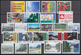 1633-1671 Schweiz-Jahrgang 1998 Komplett, Postfrisch - Zwitserland