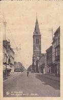 La Louvière Rue Albert 1 Er Et L'Eglise - Flobecq - Vloesberg