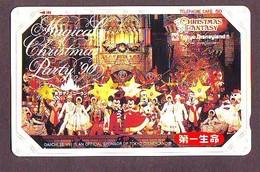 Télécarte Japon 110-98560 - DISNEY - NOEL - CHRISTMAS FANTASY (6059) Dai Ichi - DISNEYLAND Japan Phonecard - WEIHNACHTEN - Disney