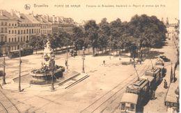 Bruxelles - CPA - Porte De Namur - Fontaine De Brouckère - Santé, Hôpitaux