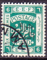 JORDAN TRANSJORDAN 1925 SG 148 6m Used - Jordan