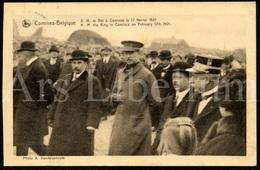 Postcard / ROYALTY / Belgique / Roi Albert I / Koning Albert I / Oostende / Comines / 1921 / Used - Belgique