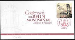 Messico/Mexico/Mexique: FDC, Centenario Dell'orologio Monumentale, Centenary Of The Monumental Clock, Centenaire De L'ho - Orologeria