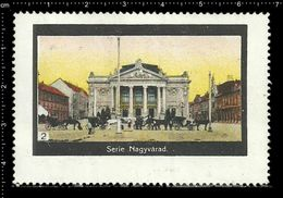 German Poster Stamp, Stamps, Reklamemarke, Cinderellas, Hungary, Ungarn, Oradea, Nagyvárad - Cinderellas