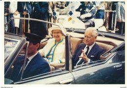 33) BORDEAUX : Visite De Sa Majesté ELISABETH II Reine D'Angleterre Et M. Jacques CHABAN-DELMAS (11 Juin 1992) - Bordeaux