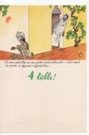Cpa.VieuxPapiers.Menus.Menu à Table Illustration Jean Bellus.Humour.Publicité Laboratoire Le Brun Inde - Menus