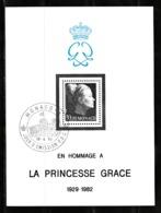 Monaco 1983 : Bloc N°24 Avec Timbre Yvert & Tellier N° 1359 Et Avec Oblitération 1er Jour. - Blokken