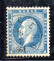 W201 - NORVEGIA 1856 , Il 4 Skill  N. 4  Usato - Usati
