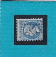 N° 22   GC  4317   VOIRON   /  ISERE     - REF 1416 + PIQUAGE + VOISIN - 1862 Napoleon III