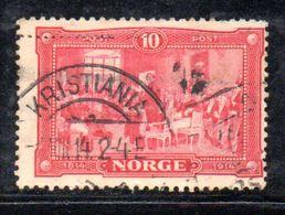 W272 - NORVEGIA 1914 , Unificato  N. 89  Usato - Usati