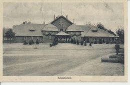 AK Soldatenheim (im Osten) - Guerre 1914-18
