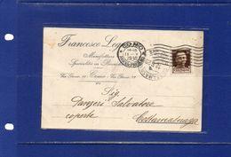 "##(DAN182)-11-5-1929-Como- Cartolina Commerciale Intestata ""Francesco Legnani-Como-Manifat. Biancheria"" - 1900-44 Vittorio Emanuele III"