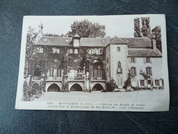 CPA  91 Montgeron  Château Du Moulin De Senlis  Ancien Lieu De Rendez Vous Du Roi IV  Cour D'honneur - Autres Communes
