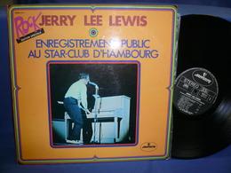 Jerry Lee Lewis 33t Vinyle Enregitrement Public Au Star Club D'Hambourg - Rock