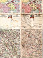 2 Cartes Du Front-Europe Centrale-( Pas La Même Carte à L'intérieur)- - Marcophilie (Lettres)