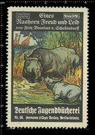 German Poster Stamp, Stamps, Reklamemarke, Cinderellas, Rhinoceros, Nashorn - Rhinozerosse