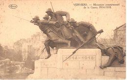Verviers - CPA - Monument Commémoratif De La Guerre 1914-1918 - Verviers