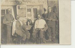 AK Rasierstube - Weltkrieg 1914-18