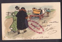 P184 - Raphael Tuck -  Couple Voiture Automobile En Panne Dépannage - Tuck, Raphael