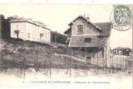 ***  23  ***  SANATORIUM DE SAINTE FEYRE Pavillon De L'administration - TTB - France