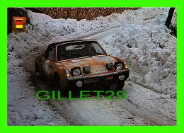 SPORTS AUTOMOBILE RALLYE - No 12 SERIE AUTOMOVILES RALLYE - PORSCHE VW 914, 1800 C.C., 190 CV - - Rally Racing