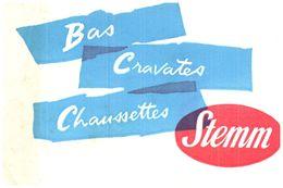Ch St/Buvard Chaussettes Stemm  (N= 2) - Blotters