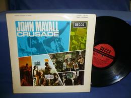 """John Mayall & The Bluesbreakers 33t Vinyle – Crusade 192.005 """"Etat Moyen G/G - Disco & Pop"""