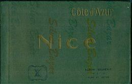NICE-LIVRE AVEC  19 IMAGES DE LA VILLE- 1914 - CM 25 X 16 - - Libri, Riviste, Fumetti