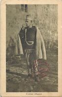 -ref  W353- Albanie - Costume Albanese  - Carte Bon Etat   - - Albanie