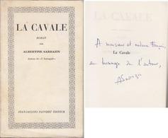 C1  Albertine SARRAZIN La CAVALE EO 1965 Dedicace ENVOI Signed RARE Prison - Books, Magazines, Comics