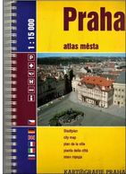 Stadtplan , City Map Plan De La Ville Praha, Prag , Prague 1: 15 000 - 203 PAGES - 2003 - Strassenkarten