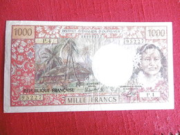 BILLET 1000 FRANCS PAPEETE-95227/P.4 - Papeete (French Polynesia 1914-1985)