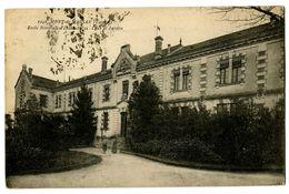 CPSM 40 Landes Mont-de-Marsan Ecole Normale D'Institutrices Cour Et Jardin - Mont De Marsan