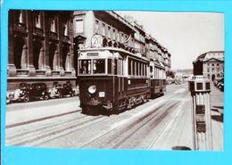 Photo 14 X 9 Cm Tramway - Transports