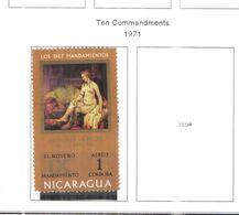 Nicaragua PA 1971 Bagno Betsabea Scott.C776+ Nuovo See Scans On Scott.Album+ - Nicaragua