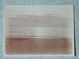 1929, PHOTO ORIGINALE, MANCHE, 50, CAROLLES, COUCHER DE SOLEIL - Places