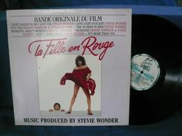 BO Du Film 33t Vinyle La Fille En Rouge Music Produit Par Stevie Wonder - Soundtracks, Film Music