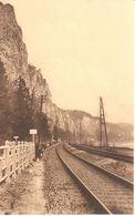 Marche En Famenne - CPA - Les Rochers Vus Du Train Radio - Marche-en-Famenne