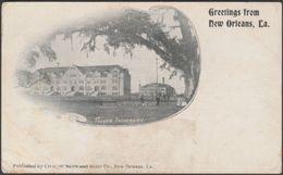 Tulane University, New Orleans, Louisiana, C.1900 - Crescent News & Hotel Co U/B Postcard - New Orleans