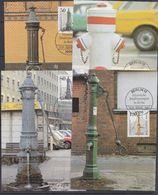 Berlin 1983 Historische Strassenpumpen In Berlin 4v 4 Maxicards (37607) - [5] Berlijn