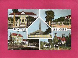 10 Aube, Fontaine-les-Grés, Multivues, Mairie, Retour Des Prés,..., (Raymon) - Sonstige Gemeinden
