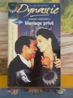 Livre Romantique > Mariage Privé < Jasmine Cresswell > 2001 < Éditions Harlequin (275 Pages) - Romantique