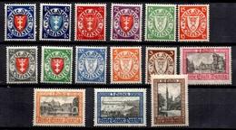 Dantzig Petite Collection Neufs * 1924/1925. Bonnes Valeurs. B/TB. A Saisir! - Danzig